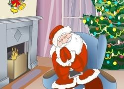 Дедушка Мороз упал!